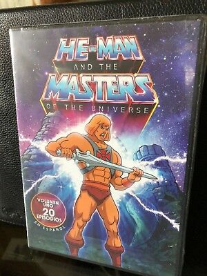 $6.98 • Buy He-Man & The Masters Of The Universe, Vol. 1 Spanish (DVD) 20 Episodios! NEW!