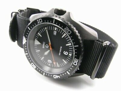 $ CDN362.73 • Buy MWC 1000ft WR 12 Hour Dial Military Divers Watch In PVD Steel Case (Automatic)