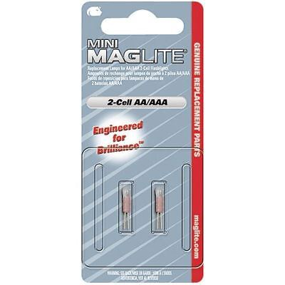Mag-Lite® LM2A001 Mini Mag-Lite® AA Flashlight Spare Krypton Bulb - Pack Of 2 • 9.98£