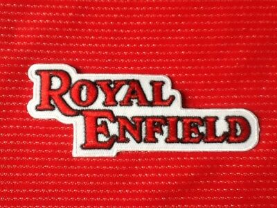 Royal Enfield Motorcycle Thunderbird British Bike Biker  Badge Iron Sew On Patch • 2.99£