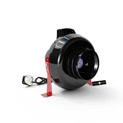 Black Orchid Inline Centrifugal Hydroponic Grow Room Extractor Fan 4 5 6 8 10 12 • 41.47£