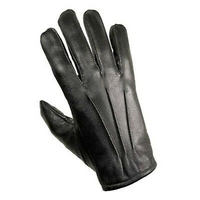 $12.99 • Buy Men's Real Leather Driving Gloves Black Unlined Fashion