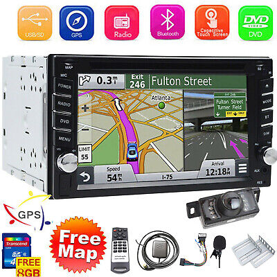 $159.99 • Buy Double Din Car Stereo 6.2  DVD CD Touch Screen Radio Mirror Link For Android&IOS