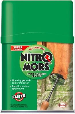 £14.49 • Buy NitroMors All Purpose Paint And Varnish Remover 375ml Double Strength 1985778