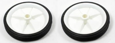 SELECT PLASTIC  PVC WHEEL 100mm (4'') - For Buggy, Hobby & Toy Making Etc  • 3.89£