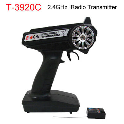$35.99 • Buy For Radio RC Car Boat T3920C 2.4GHz 3-Channel Radio Control Transmitter Receiver