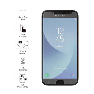 AU6.99 • Buy Tempered Glass Screen Protector For Galaxy A20 A30 A50 A70 J7 J5 J3 A3 A5 A7 A9