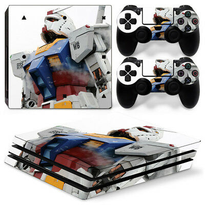 AU11.58 • Buy Gundam Skin For  Playstation PS4 PRO Pro Stickers & 2 Controllers Skins