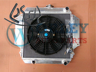 AU210 • Buy For SUZUKI SIERRA Radiator+Fan+Black Hoses 1.0 1.3 SJ410/413 1981-1996 Alloy MT
