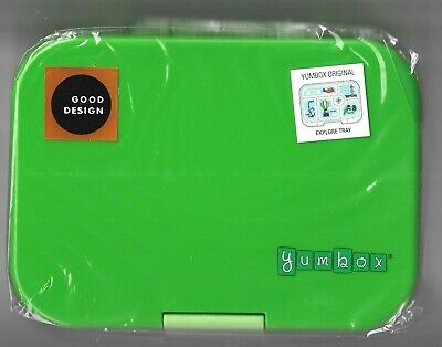 AU49.99 • Buy Best Quality Leakproof Lunchbox Yumbox Original Explore Tray Green AU Seller