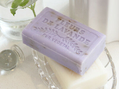 Savon De Marseille French Lavender Honeysuckle  Soap Gift Wedding Christmas • 3.50£