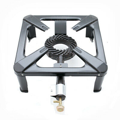 £23.99 • Buy  LPG Cast Iron Gas Burner Cooker Catering Commercial Camping Large Size