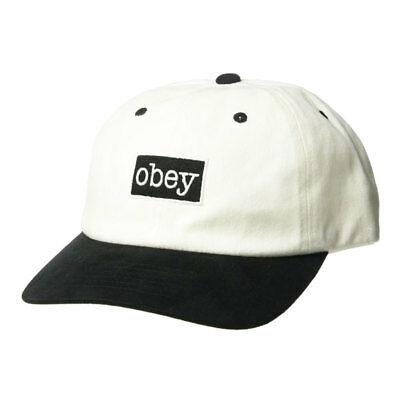 Cappellino Obey Brooks 6 Panel Snapback Off White • 34.95€ d15dd39cc843