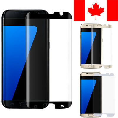 $ CDN6.99 • Buy 3d Curved Full Tempered Glass Screen Protector For Samsung Galaxy S7 Edge