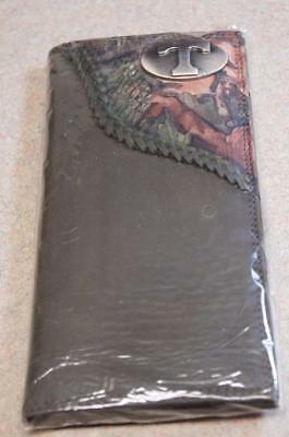 $42 • Buy ZEP-PRO Tennessee Volunteers Roper Leather Fence Row Camo Wallet ONLY NO BOX