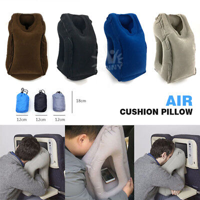 AU19.85 • Buy Air Cushion Multifunctional Travel Pillow Neck Support Nap Pillow For Airplane