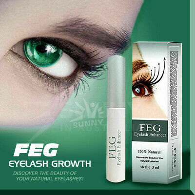 AU11.96 • Buy Genuine FEG Natural Eyelash Enhancer Serum Eyelash Growth Booster Lash