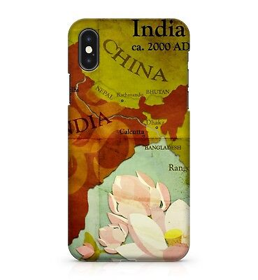 £5.99 • Buy 2000 AD Ancient Historical Colourful Floral India World Map Phone Case Cover