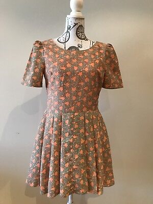 AU49.99 • Buy Vaudeville & Burlesque By Urban Outfitters Coral Dress Size M