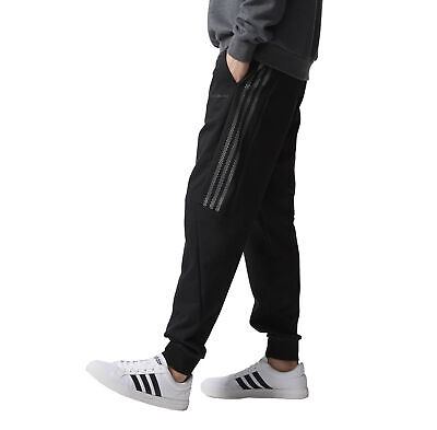AU64.95 • Buy Adidas Neo Men's Knit Track Suit Pants Training Gym Fitness Trackies - Black
