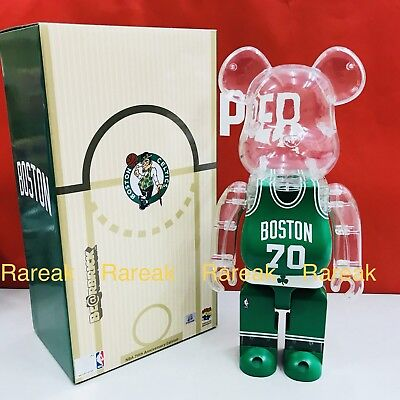 $197.99 • Buy Medicom Be@rbrick NBA X Milk Magazine 400% Boston CELTICS Bearbrick 1pc