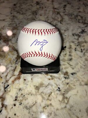 $ CDN86 • Buy Alex Verdugo Autographed Baseball, Los Angeles Dodgers, Top Prospect, MLB