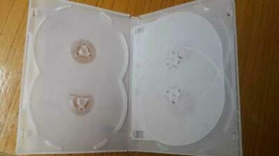 AU23.10 • Buy 10 X Hold 6 14mm Standard Hex DVD Cover Disc Case Holds 6 Discs Outer Wrap CLEAR