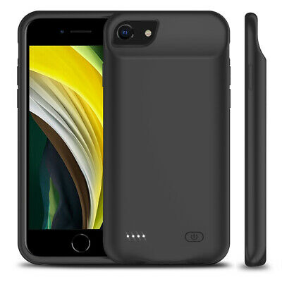 AU50.99 • Buy Apple Certified Ultra Slim Battery Case 240% Rechargeable For IPhone X 8 6 7 5C