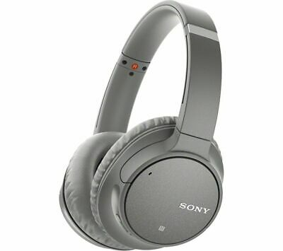 SONY WH-CH700N Wireless Bluetooth Noise-Cancelling Headphones - Grey - Currys • 98.97£