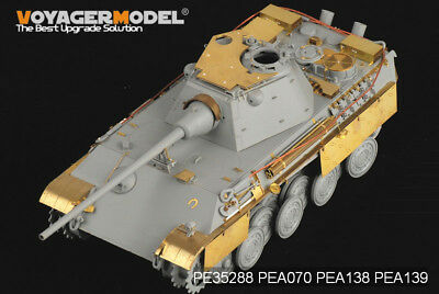 PE For WWII German Panther F Basic (For DRAGON), 35288 VOYAGERMODEL • 15.39£