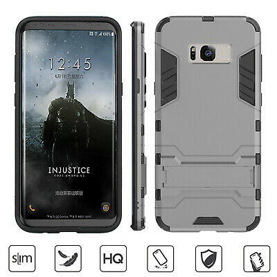AU14.24 • Buy Male Armor Cover Case With Slim Wallet Card Slot Holder For Galaxy S9 Plus/S9/S8