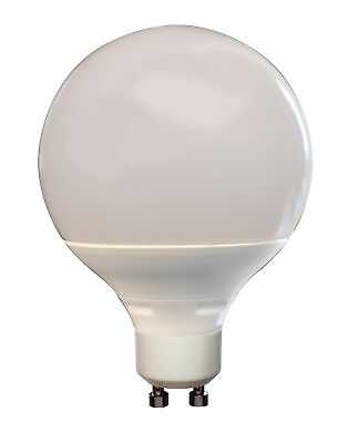 Tp24 10w Globe G95 Led Lamp Frosted L1/gu10 • 11£