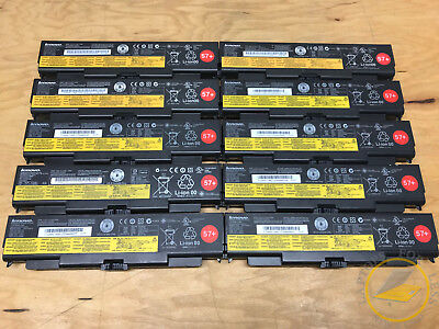 $ CDN189.99 • Buy LOT OF 10 Lenovo ThinkPad 6 Cell 57+ Laptop Battery T440p T540p W540 W541 L440