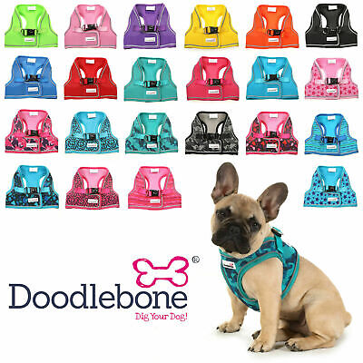 £14.88 • Buy Doodlebone Dog Harness Snappy EASY FIT AirMesh Padded Vest 6 Sizes 10 Colours