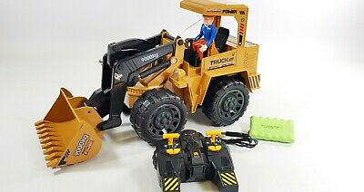 2.4G Remote Control RC JCB Style Construction Truck Working Digger Bulldozer Toy • 234.99£