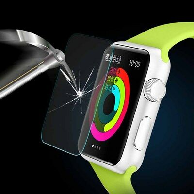 $ CDN3.99 • Buy 2Pack Tempered Glass Screen Protector For Apple Watch  (Series 1 2 3 ) 38mm/42mm