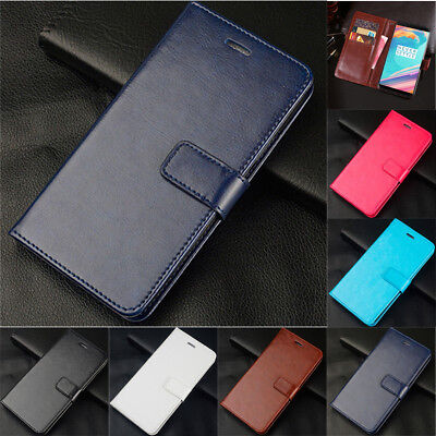 AU7.42 • Buy For OnePlus 7 Pro 6T 6 5T 3T Magnetic Wallet Card Slot Flip Leather Case Cover