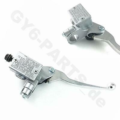 AU34.77 • Buy *right* Hydraulic Brake Master Cylinder Lever Silver Gy6 Scooter Taotao Znen Bms