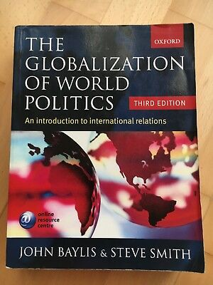 The Globalization Of World Politics: An Introduction To International Relations • 8£