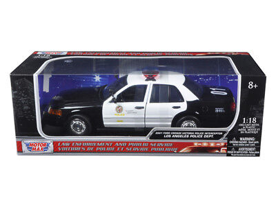 2001 Ford Crown Victoria Los Angeles Police Department LAPD Car 1/18 Diecast ... • 48.06$