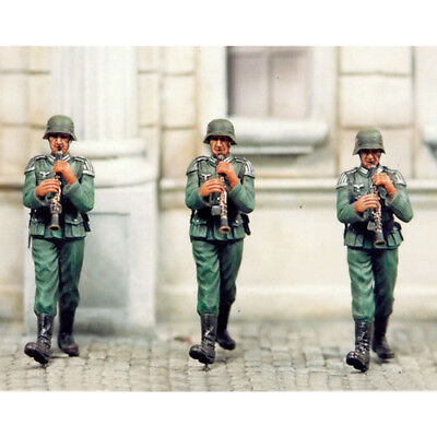 Sol Resin Factory, Mm078, 1/35, Clarinet Player (3 Figures) • 21.60£