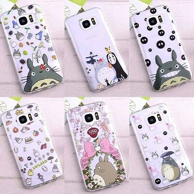 Totoro Cartoon Soft Case Cover For IPhone 8 7 6s Plus Samsung Galaxy S7 S7 Edge • 2.04£