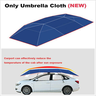 Waterproof UV Replaceable Oxford Cloth For Auto Car Umbrella Tent Roof Cover • 43.89£