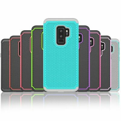AU7.95 • Buy Shockproof Heavy Duty Hard Case Cover For Samsung Galaxy S6 S7 Edge S8 S9 Plus +
