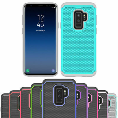AU5.75 • Buy Shockproof Heavy Duty Gel Case Cover For Samsung Galaxy S6 S7 Edge S8 S9 Plus +