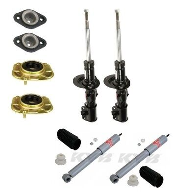$444.89 • Buy Fits Volvo V70 Front & Rear Shocks Struts Mount Sleeve Suspension Kit KYB/Meyle