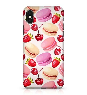 £5.99 • Buy Red Cherries Yummy Strawberries Colourful Burgers Pattern Phone Case Cover
