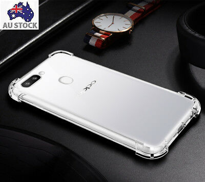 AU6 • Buy Shockproof Tough Oppo F1S F5 A57 A73 A77 Soft Gel Clear Case