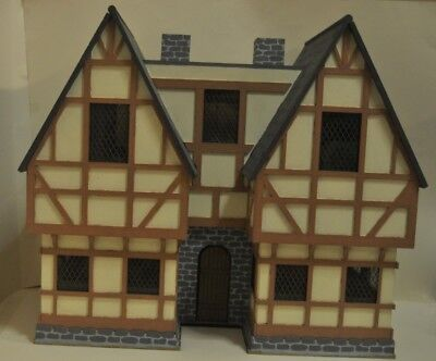 £150 • Buy Wooden Made-to-order Tudor Dolls House / Satetly Home