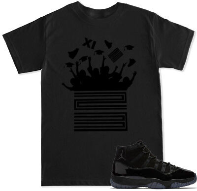 5f07cc10dc9e Cap And Gown Prom Night T Shirt To Match With Air Jordan Retro 11 23 Shoes
